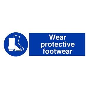 Wear Protective Footwear - Landscape