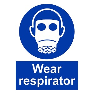 Wear Respirator - Portrait