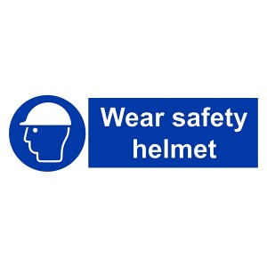 Wear Safety Helmet - Landscape