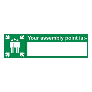 Your Assembly Point Is - With Blank - Landscape
