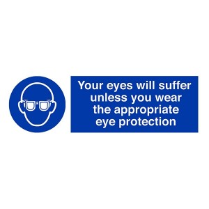 Your Eyes Will Suffer Unless You Wear The Appropriate Eye Protection - Landscape