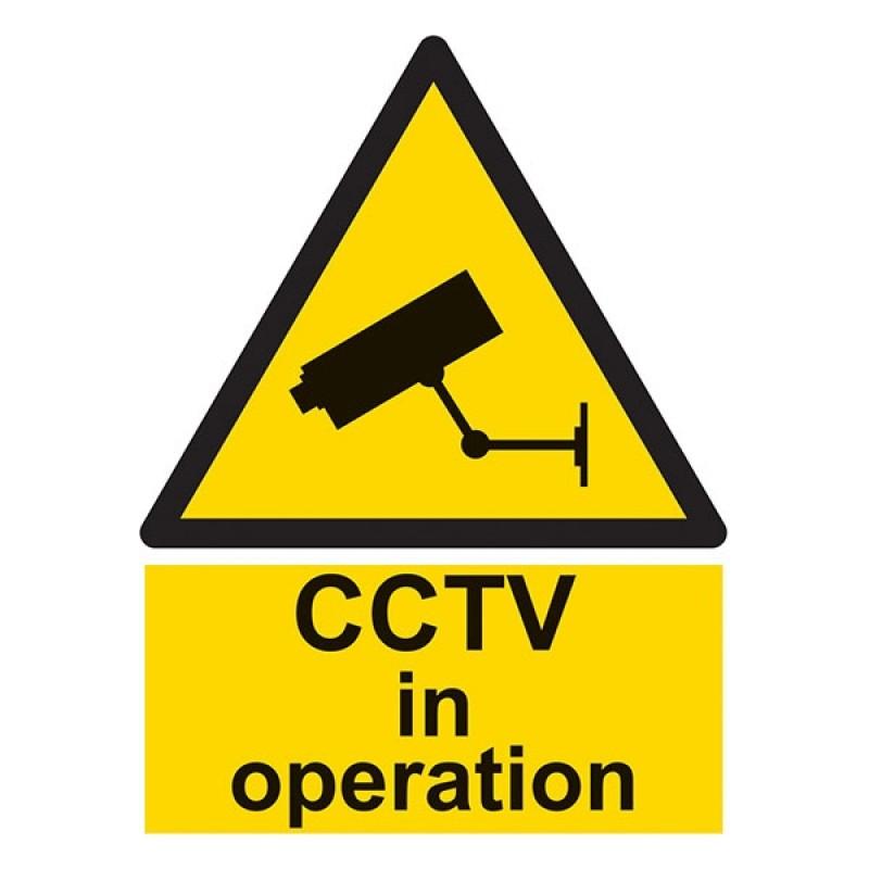 Cctv In Operation Portrait
